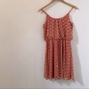 Anthro birdcage geometric  patterned dress small